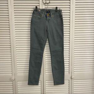 True Religion Blue Skinny Jeans